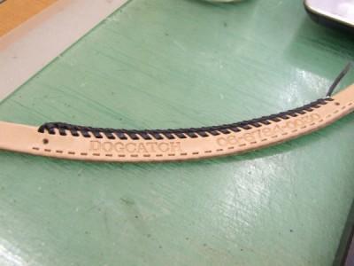 首輪の試作品 制作過程