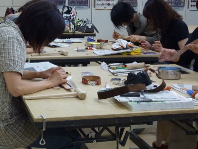 手作り首輪教室