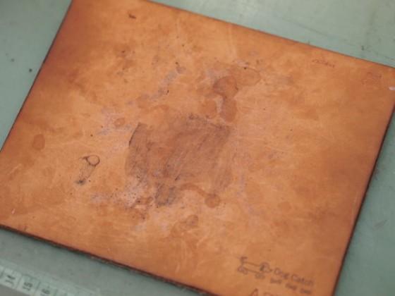 革のマウスパッド