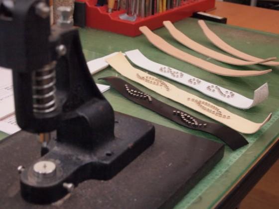 首輪作り。