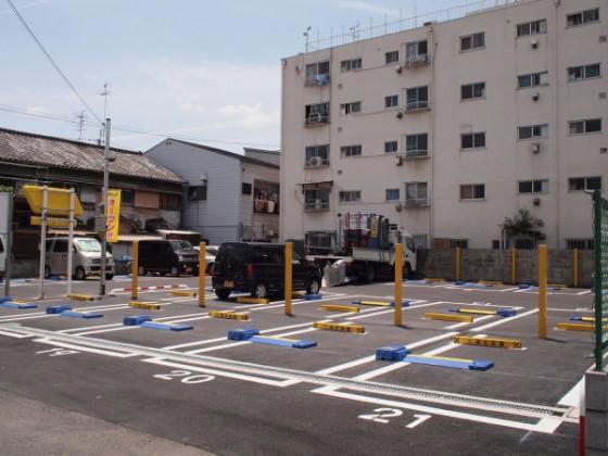 20台駐車可能