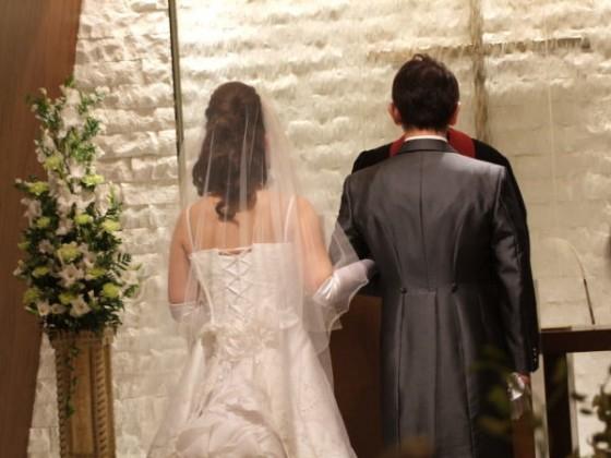 結婚式に参列してきたね^-^